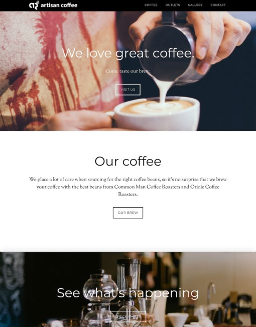 Artisan Coffee